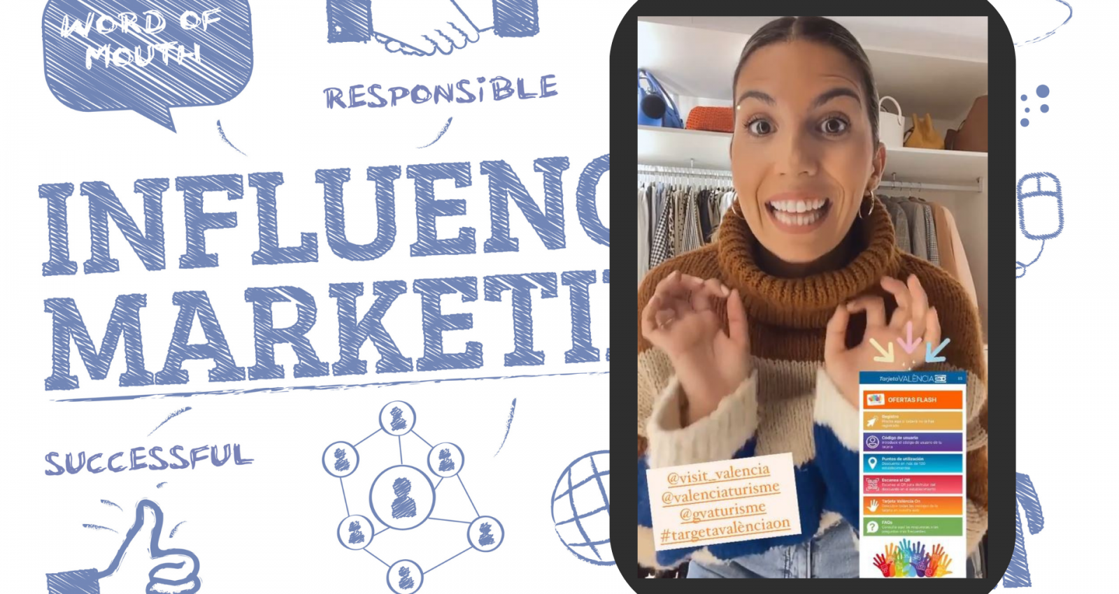 lau closet tarjeta valencia on influencers
