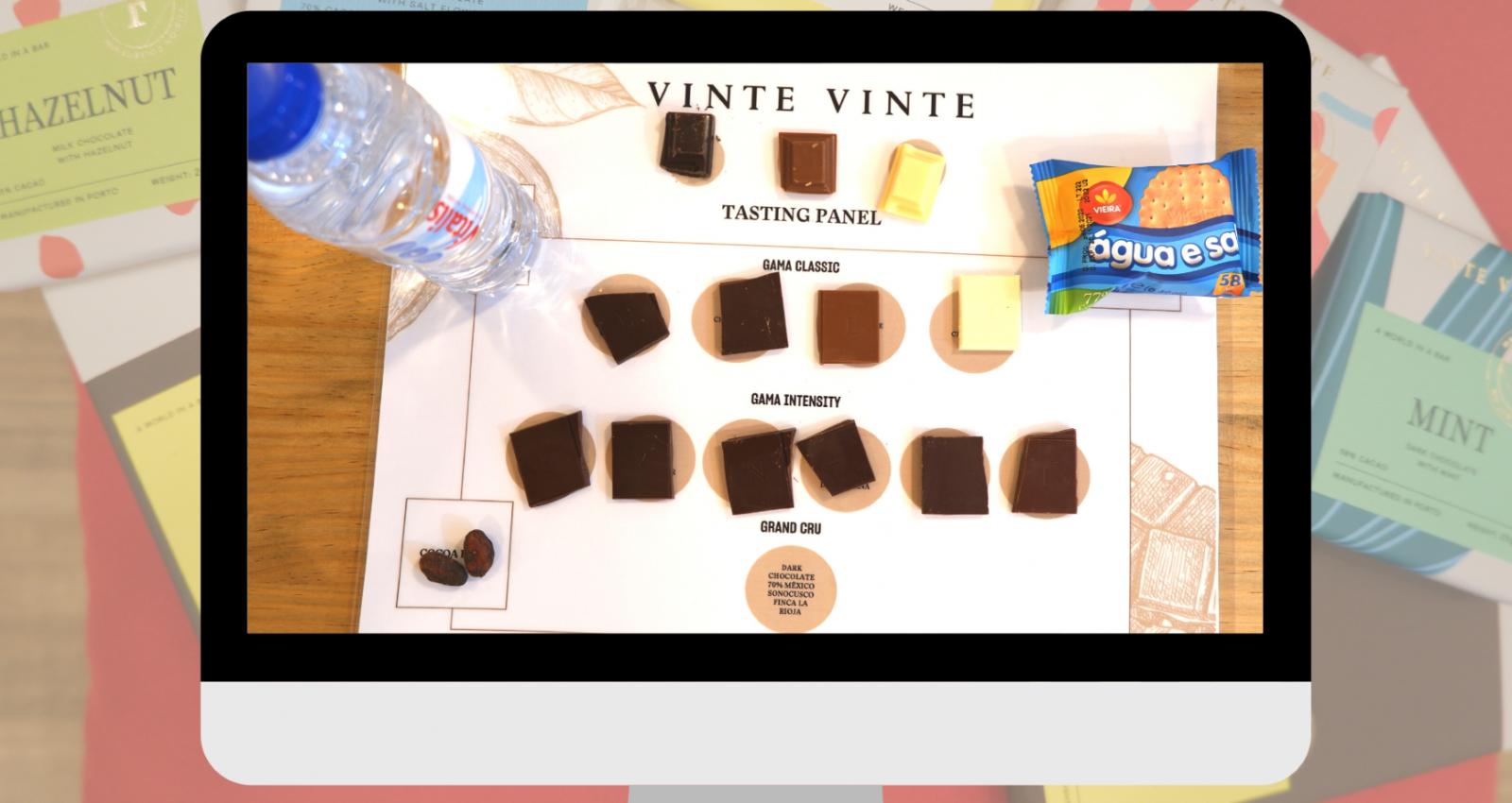 EVENTO WOW PRESENTACION CHOCOLATE VINTE VINTE CATA